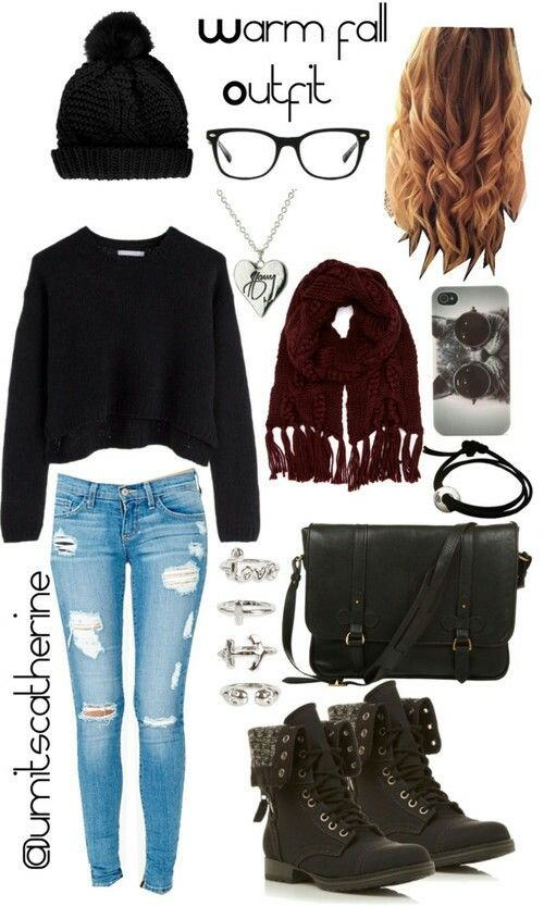 12 Beautiful Outfits For Teen Girls - College Style -6024