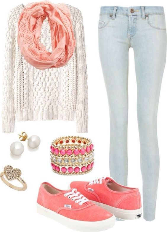 12 Beautiful Outfits For Teen Girls - College Style ...